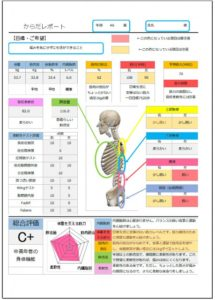 身体レポート